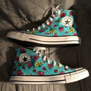 Converse Floral Spring High Tops